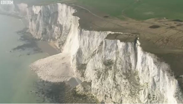 A land unstable: erosion of the white cliffs of Dover